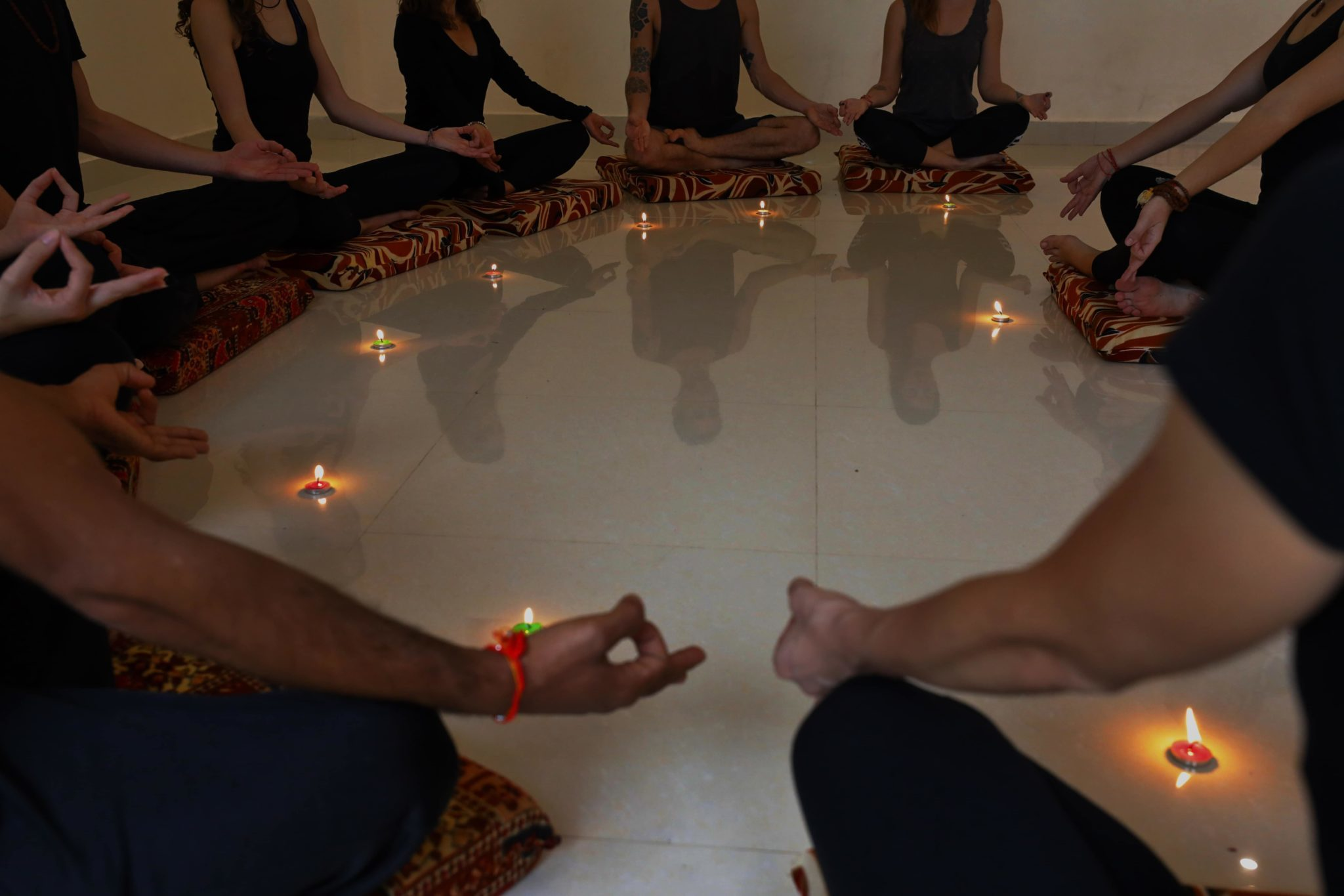 Yoga and meditation course in Kerala India