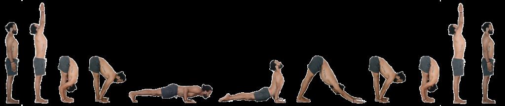 Ashtanga Yoga Surya Namaskar A Asanas With Name, Image ...